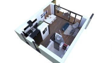 Mieszkanie środkowe